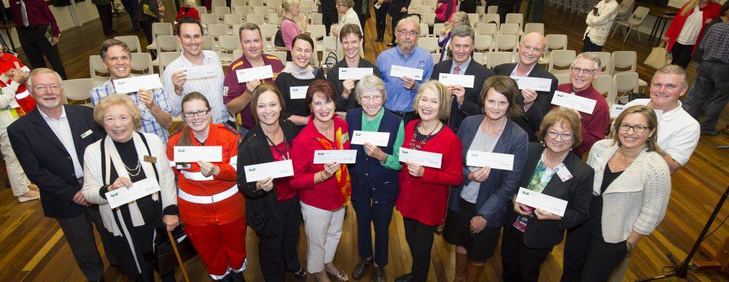 Buderim Foundation Good News Night 2015 Grant recipients