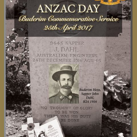 Buderim honours local ANZACs