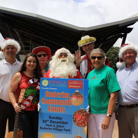 Just days until Buderim Community Carols lights up new Buderim Village Park stage