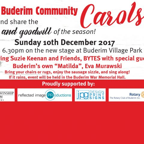 Buderim Community Christmas Carols to light up new Buderim Village Park stage