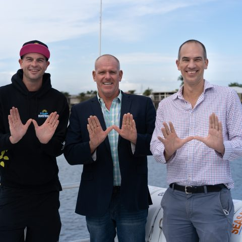 Sunshine Coast Swim with Whales season launches as new 24metre Whale Watching vessel arrives