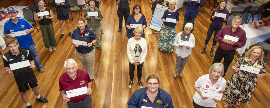 Buderim Foundation 2020 Grant recipents