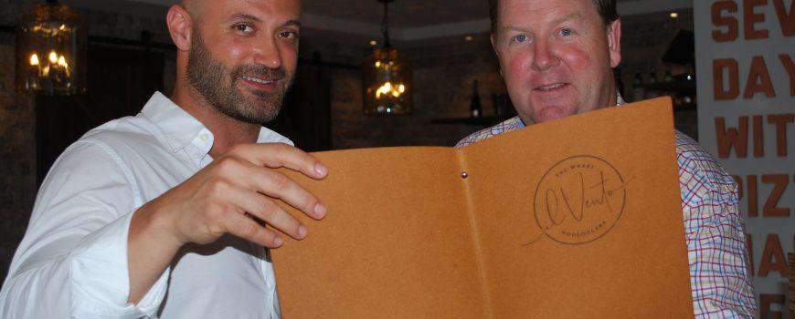 Il Vento - Ibrahim (Bob) Haddad and Dirk Long frmo The Wharf Mooloolaba 2