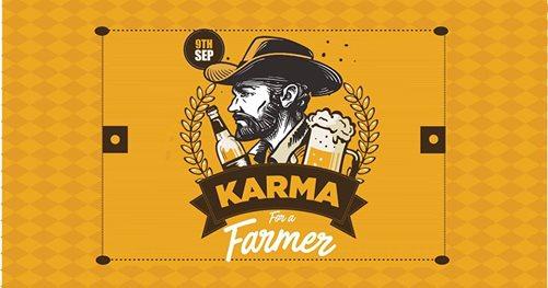Image karma for a farmer