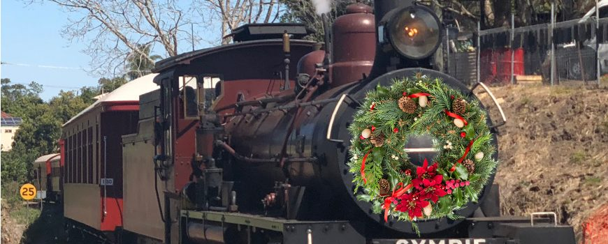Mary Valley Rattler Christmas -wreath only