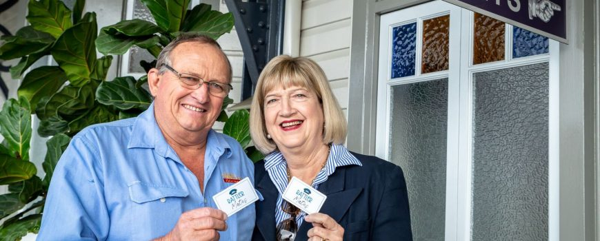 Mary Valley Rattler Mates Ambassadors - John and Margaret Cochrane-web