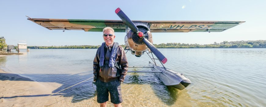 Paradise-Seaplanes-owner-and-pilot-Shawn-Kelly-with-Willy