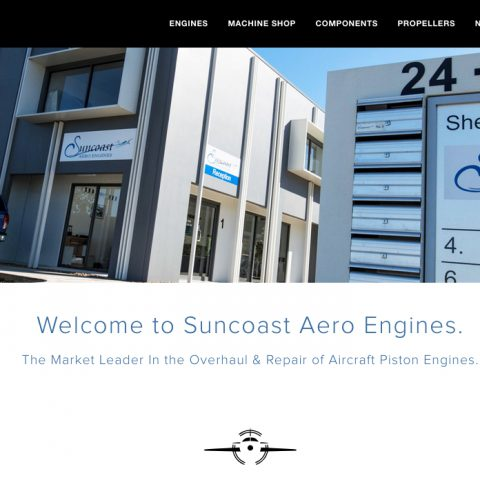 Suncoast Aero Engines launches new website