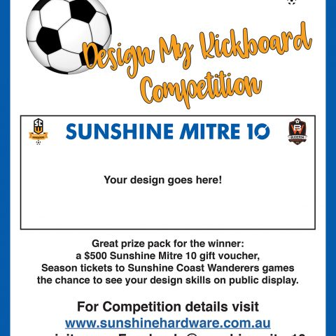 Sunshine Coast Wanderers kickstart 2019 season with design competition
