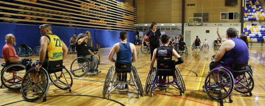 Suncoast Spinners Wheelchair Basketball 1