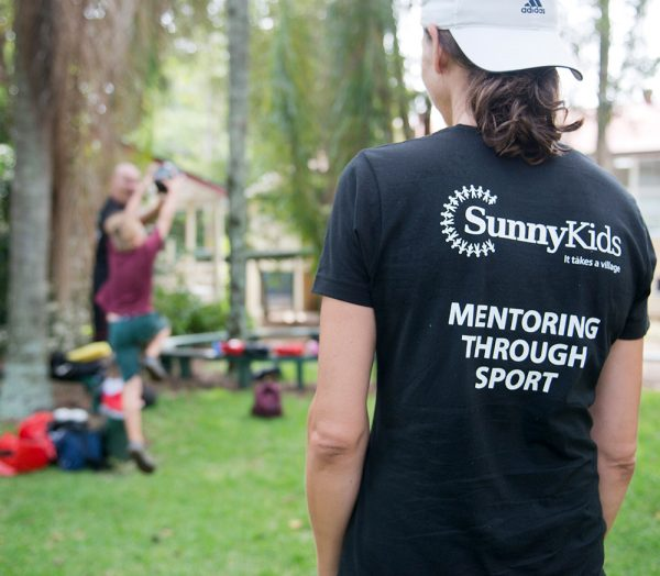 SunnyKids Mentoring through Sport Program at Buderim Mountain State School, funded through a Buderim Foundation grant
