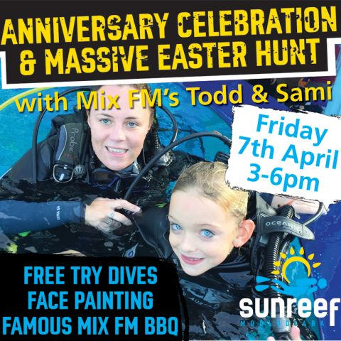 Sunreef Mooloolaba to celebrate with Anniversary and Easter Party