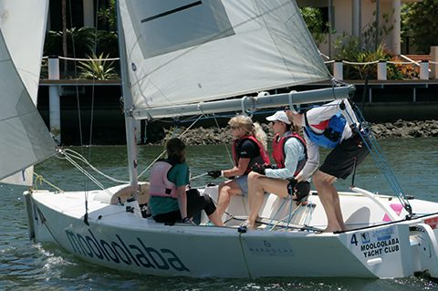Sunreef Mooloolaba and Mooloolaba Yacht Club join forces to send Women's sailing team to national regatta