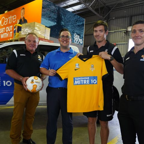 Sunshine Coast Football Team Launch 2020 Season with support of Sunshine Mitre 10