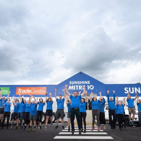Thousands turn out for opening of new flagship Sunshine Mitre 10 store in Nambour
