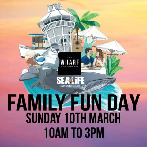 The Wharf Mooloolaba Family Fun Day rescheduled after Oma interrupted
