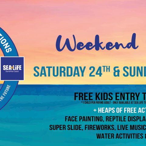 The Wharf Mooloolaba & SEA LIFE Sunshine Coast massive 30th Birthday to feature loads of free fun!