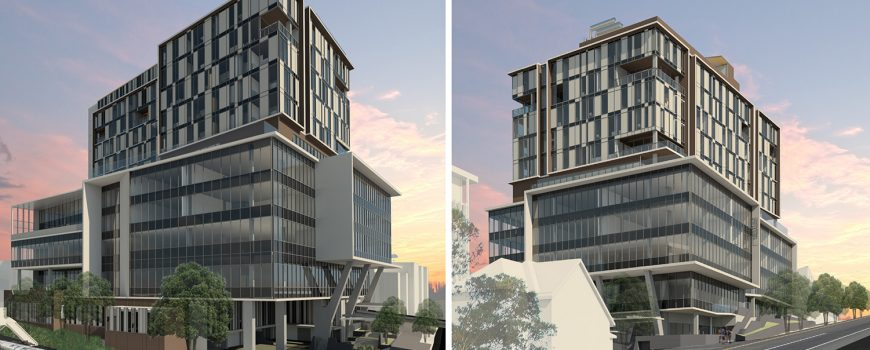 Westside Private Hospital Taringa building aspects-web